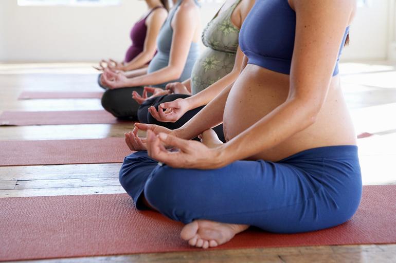 ioga e gestação