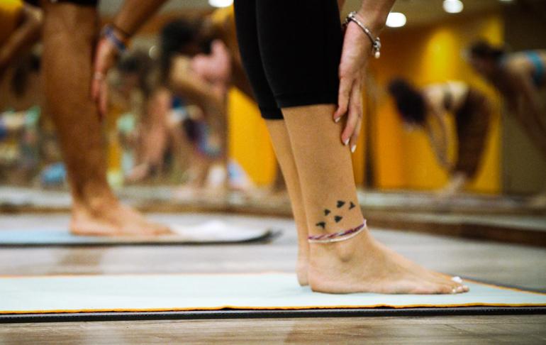 exercícios de ioga