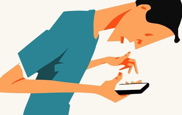 Excesso de uso de celular